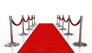 Aisle Runner Carpet Woven Back 1m wide x 11m long Red